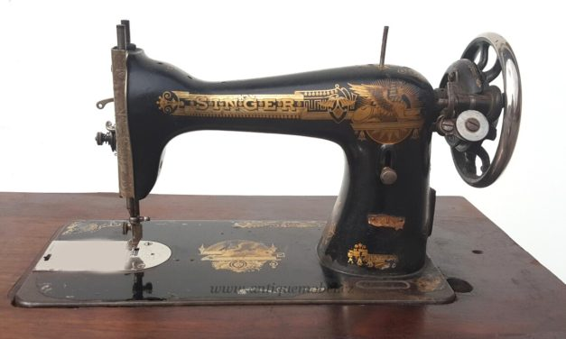 Šicí stroj a Elias Howe