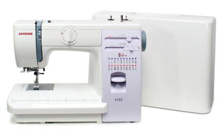 Šicí stroje Janome – nabídka I