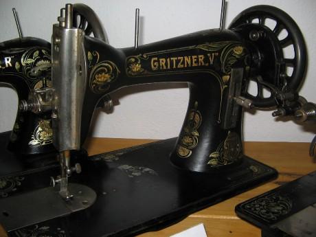 Šicí stroje Gritzner