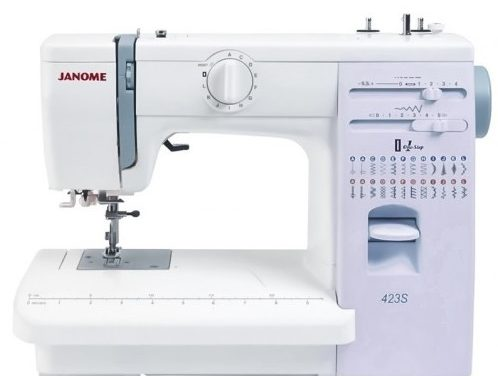 Šikovný a levný –  to je šicí stroj Janome 423 S