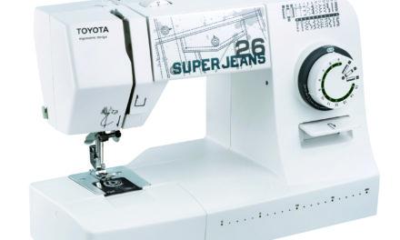 Šicí stroje Toyota Super Jeans