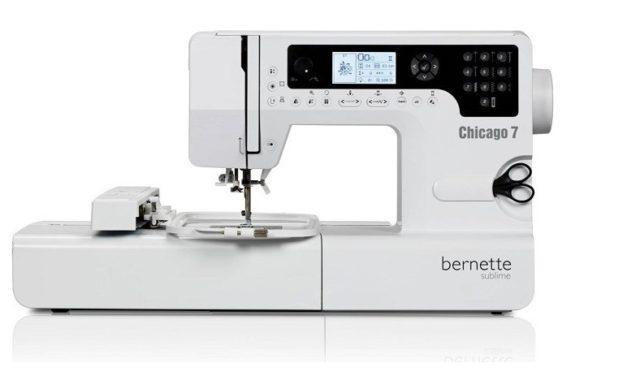 Šicí a vyšívací stroj Bernette Chicago 7