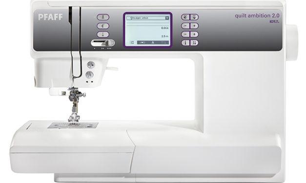 Moderní šicí stroje pro náročné uživatele – šicí stroje Pfaff Ambition
