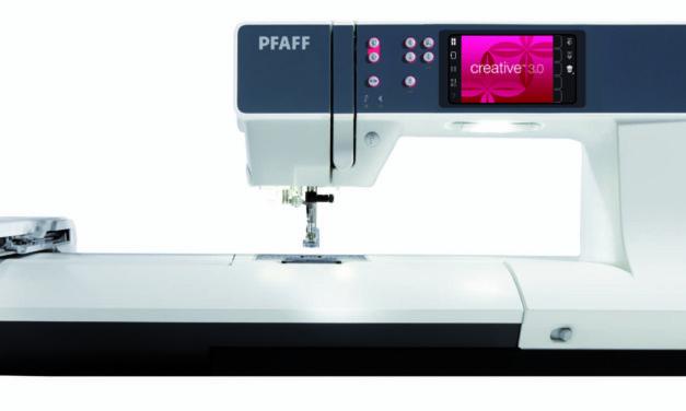Šicí a vyšívací stroje Pfaff Creative